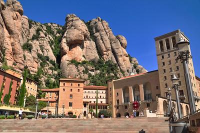 'THE BLACK MADONNA' in MONTSERRAT, CATALUNYA, SPAIN