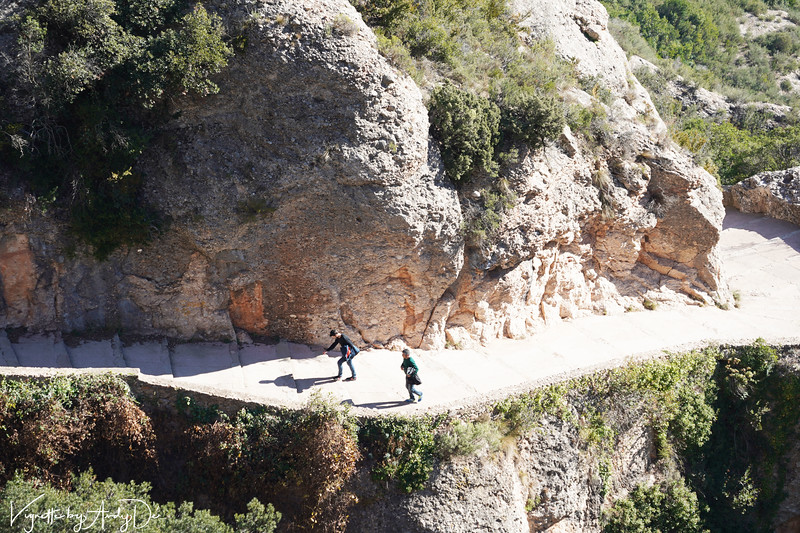 Montserrat is a haven for joggers, trekkers, mountain climbers, and fitness freaks, many of whom choose to take the scenic route to the apex!🙂