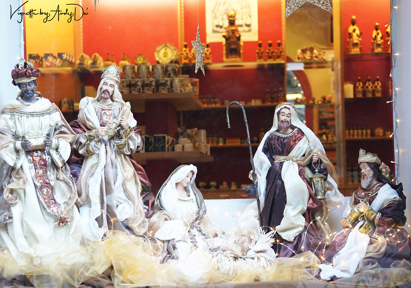 A display of the Scene of the Nativity, to add to the Festive Spirit!