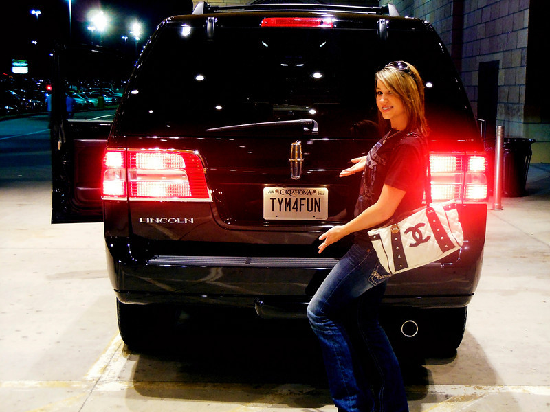 Lorraine<br /> Ready for the Montgomery Gentry Concert<br /> 2010-08