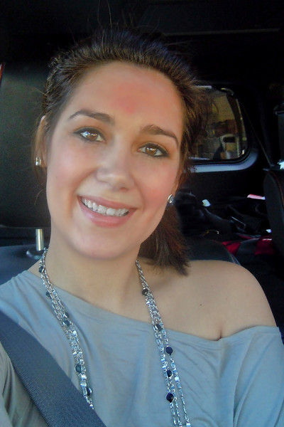 Heather<br /> Riding to the Montgomery Gentry Concert<br /> 2010-08