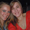SAMMI H and ANITA P ... riding in Black Stallion ... to Blake Sheldon and Miranda Lambert and Kelly Clarkson concert ... 2011-12-30