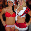 "MINDY and BRITTANY ready as ""Team Naughty"" ... 2011-12"
