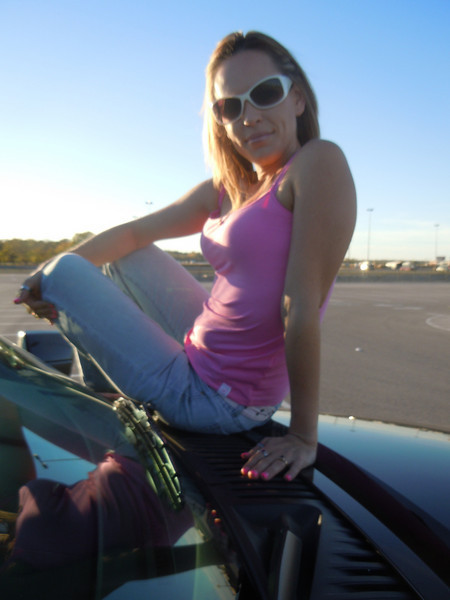 JENNIFER W <br /> Enjoying the BLACK STALLION and the weather before the Travis Tritt concert <br /> 2010-11