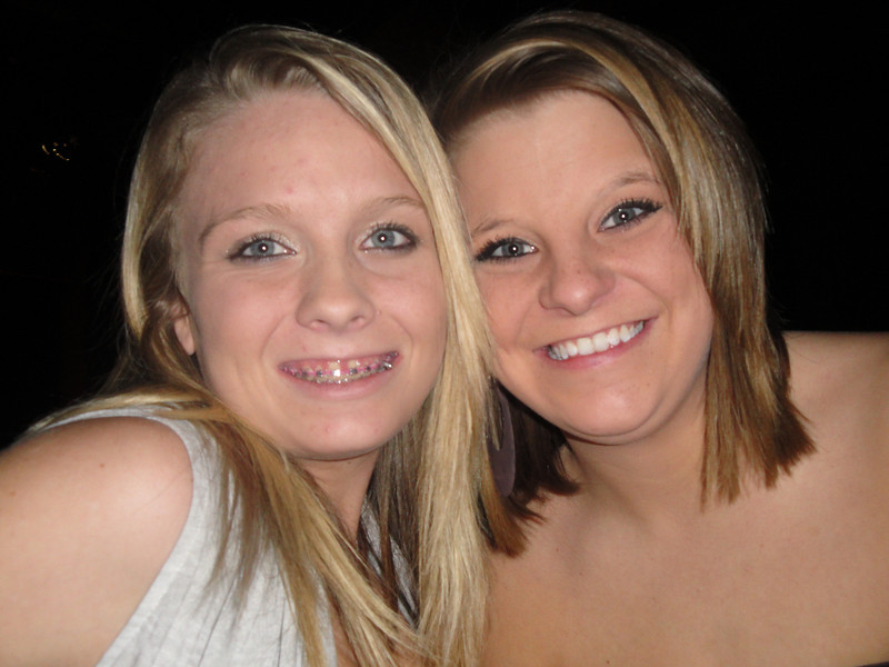 Courtney & Whitney<br /> Riverwind - Eli Young Band concert<br /> 2010-02