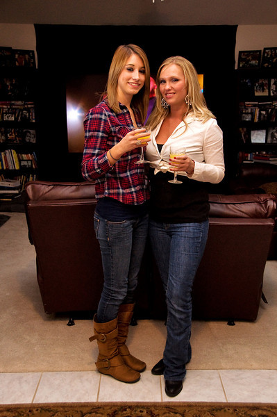 CCR Concert pre-party at LLR's home <br /> - Shannon & Melissa