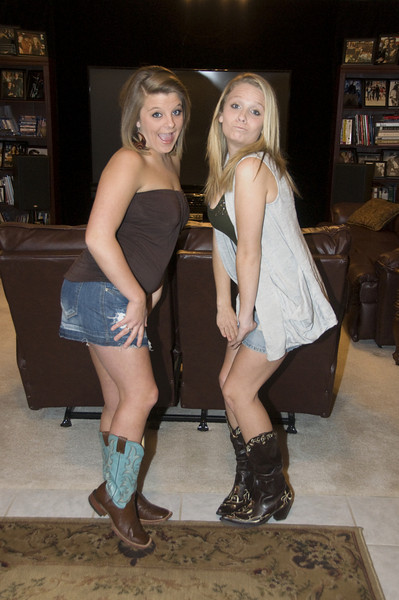 Whitney & Courtney<br /> Home Theatre<br /> 2010-02
