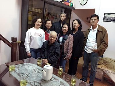 1) Khúc Thị Xuân Dung, Thầy Nguyên.   2) Đỗ Thị Thu, Lê Thị Hường. 3)Nguyễn Đình Tài, Nguyễn Kim Thành, Bùi Mạnh Hùng