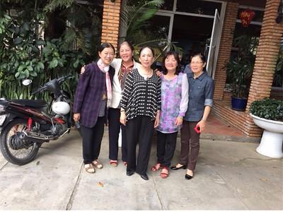 Phạm Thị Nguyên Nhung, Vy Thị Lương, Cô Thu Cúc, Nguyễn Thị Dung, Trần Thị Bảo