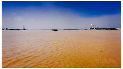 Sông Sàigòn nhìn về hướng Bà Rịa