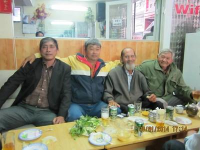 Thành(73-74), Trọng, Sĩ, Phước