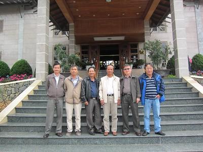 Nguyễn Hùng, Võ Tấn Hưng, Trần Văn Đồng, Nguyễn đắc Hớn, Phạm Minh Cường, Trương Văn Trung