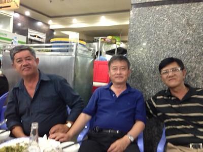 Trần Kỷ Thu, Phạm Minh Cường, Bùi Mạnh Hùng