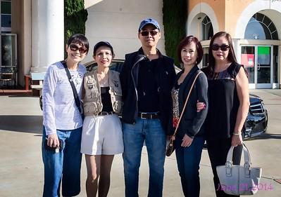 Đặng Thị Cung,HMS, Trần Văn Sanh, Minh Trang SJ, Nguyệt Nga