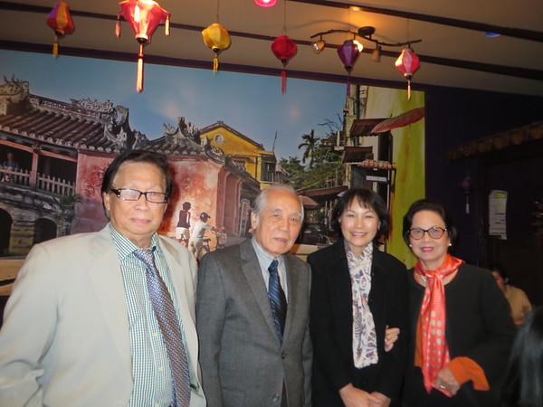 Thầy Nguyễn Văn Thành, thầy Phạm Kế Viêm, Đặng Thị Cung,  cô Trần Thị Diệu Tâm