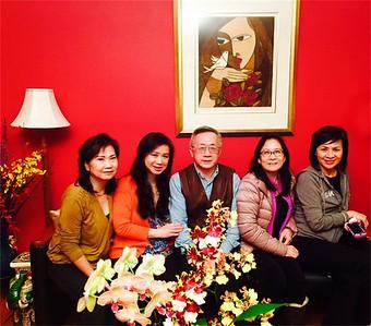 Phương Trinh, Nhất Anh, Nhị Anh, Mai Thu, Kim Ngọc