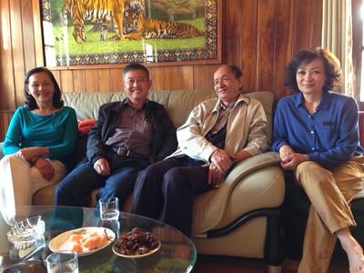 Đỗ Thị Thu, Phạm Minh Cường, thầy An, Trần Thị Thu Cúc