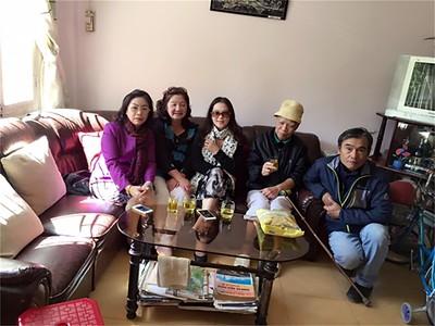 Dương Ngọc Điệp, Nguyễn Thị Dung, Nguyễn Thị Tuyết, Thầy Lưu Văn Nguyên, Võ Tấn Hưng