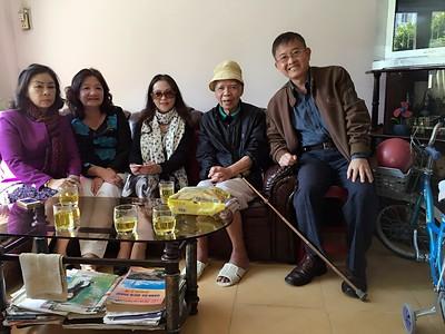 2 hình Thăm Thầy Lưu Văn Nguyên, tháng  11, 2015