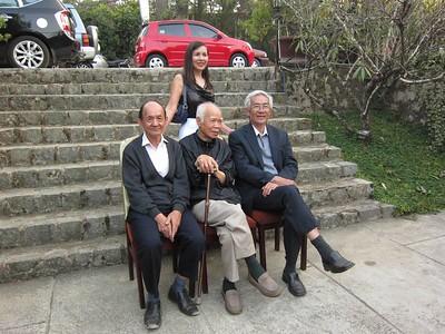các thầy Phạm Văn An, Lưu Văn Nguyên, Nguyễn Thanh Châu