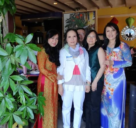 Nhất Anh, Phan Kim Ánh Thu, Nhị Anh, Mai Thu, Sonia Thanh Thủy