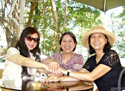 Nhất Anh, Trần Phi Nga, Trần Mai Thanh