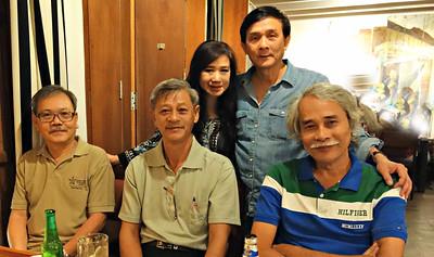 Nguyễn Thanh Dũng,Nguyễn Đình Tài,Nhất Anh,Phan Đạm Hùng,Nguyễn Hữu Tuấn