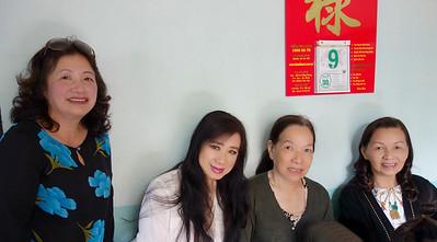 Nguyễn Thị Dung, Nhất Anh, Phùng Thị Phú, Đỗ Thị Thu