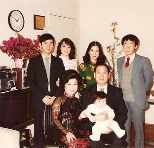 Gia đình Thầy Chử  Bá Anh