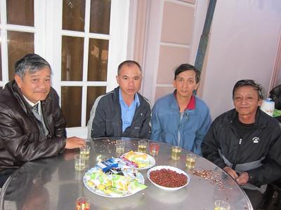 Phước, Thanh, Tý, Tâm