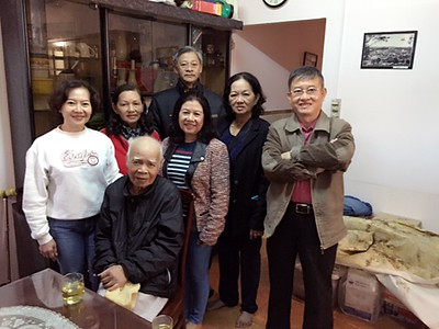 48 hình - thầy Lưu Văn Nguyên-lúc sinh thời