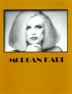 Composite Card for Morgan's Fashion Modeling