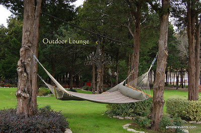 This is one of THE best restin spots on the ranch. Great for relaxing during the day or star gazing at night.