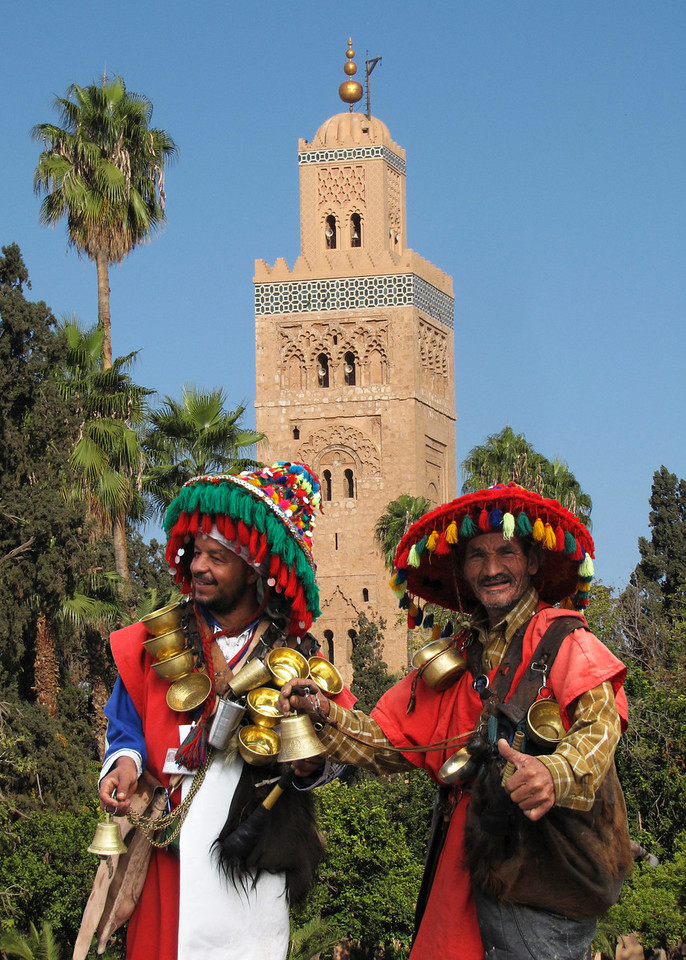 WATER SELLERS - KOUTOUBIA MOSQUE