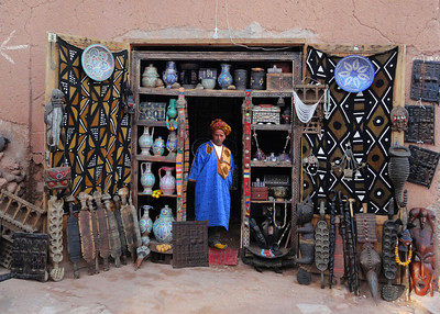 WEST AFRICAN CRAFTS - AIT BEN HADDOU