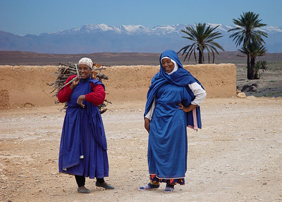 BERBER LADIES - SOUTHERN MOROCCO