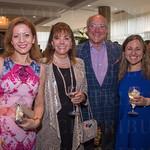 Dr. Mary Koutourousiou, Terri and Steve Bass and Summer Auerbach.