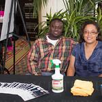 Tayo and LaKeshia Okubena of On the Spot Mobile Detailing.