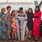 Brittaney Chapman, Shekinah Armstrong, Deisha Simril, Raeshanda Johnson, Delicia Brown and Jessica Flowers of All is Fair in Love and Fashion.