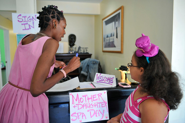 MOTHER & DAUGHTER SPA DAY WAS HELD AT THE C.O.T.A. OFFICE. BONDING ACTIVITIES, BRUNCH, SPA SALON THAT PROVIDED MANICURES FOR BOTH ,OTHERS AND DAUGHTERS. THEY WERE ALSO ABLE TO GET THEIR HAIR DRESSED AS WELL. A WORKSHOP MODERATED BY SABRING ST. JOHN AND THE WORKSHOP WAS FACILITATED  BY W.I.N.D.O.W.  BY VALERIE GOODLOE