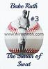 Babe Ruth, New York Yankees 1920.