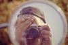 Here's one for you! Me taking a picture of me in the mirror of my CD200!, 09/86. I couldn't have had much to do that day!