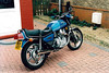 BEW149T, my Italian import Honda CX500. People were very unkind about these bikes but I really liked mine - it only had 29000km on the clock when I got it. I gave it to my son-in-law eventually when his bike self-destructed.