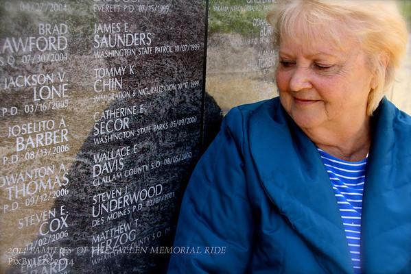 2014 FAMILIES  OF THE FALLEN MEMORIAL RIDE