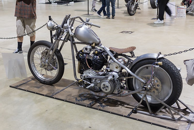 Custom Street Motorcycle