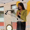 Dean of Student Affairs Dr. Jinny Oh, event Emcee.