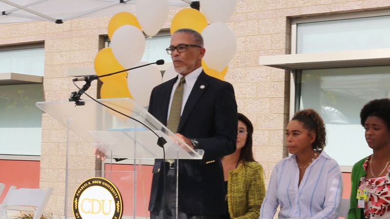 Video Clip of CDU President and CEO David M. Carlisle Introducing Compton Unified Administrators and Others.