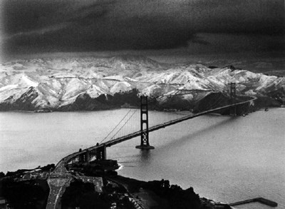 HEADLANDS SNOW ©ART FRISCH 1976