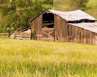 Tesla Barn Livermore Valley Image I.D. #:  V-07-004