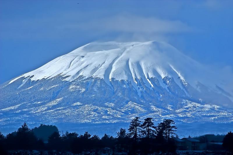 Mt Edgecumbe Snow